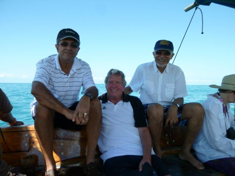 Downtime for Hassan, Rea and Feroz