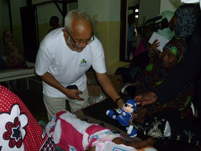 Toys distribution at local hospital.