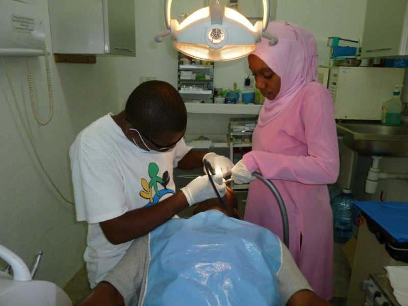 Our dental clinic in operation