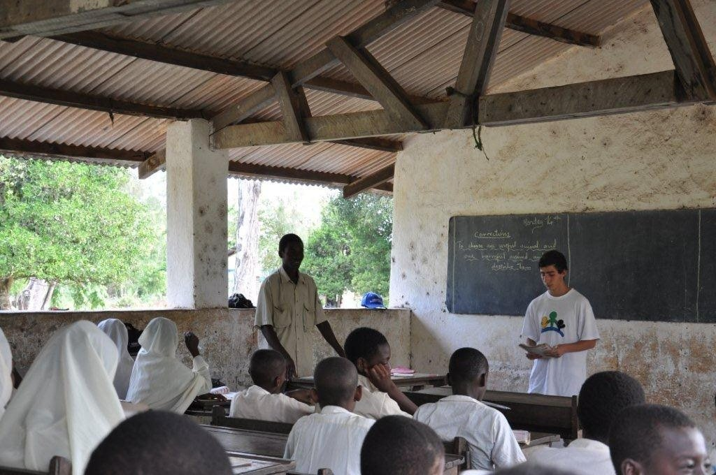 February 2011 - A brand New classroom